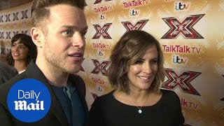 'This is a massive team effort': Olly Murs praises new panel - Daily Mail