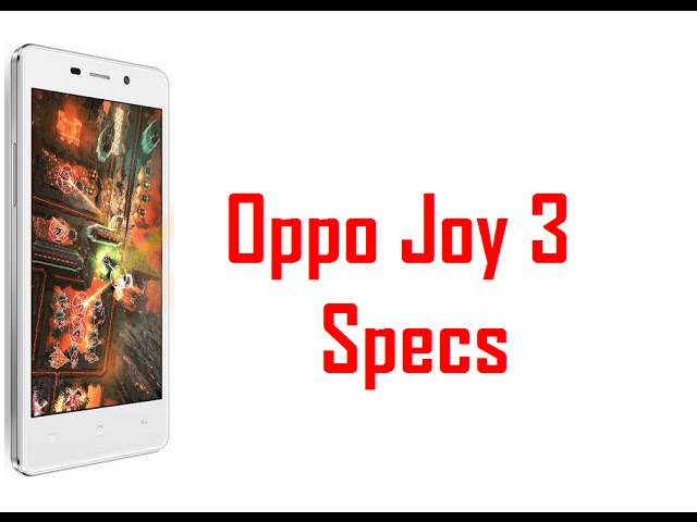 Oppo Neo 3 Full Specifications Videos Sony Mobile Phones
