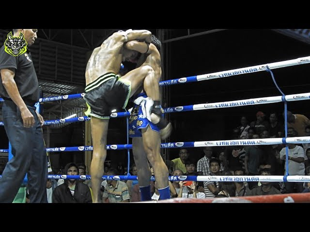 Petchpibun Emerald Muay Thai Gym fights for the South Thailand Belt