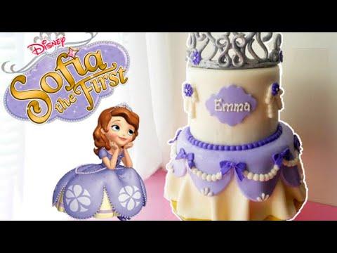 Download Sofia The First Cake | Marisha's Couture Cakes
