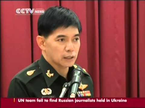 Thailand military holds first press conference since takeover