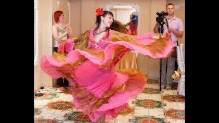 Gipsy dance at the wedding. Цыганочка на свадьбе.