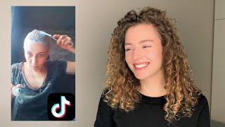 ТИК ТОК о волосах Моя реакция на TikTok 6