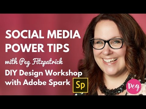 DIY Design Workshop with Adobe Spark
