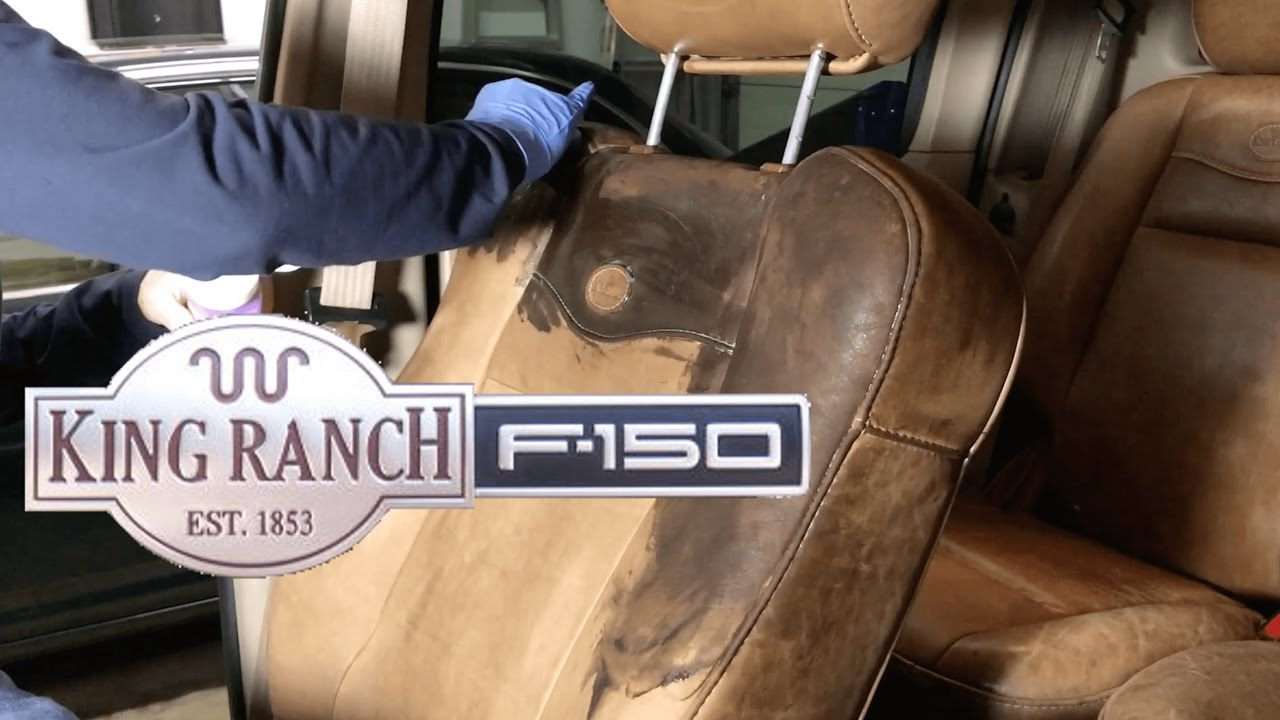 Best Way To Restore King Ranch Ford Truck Seats Youtube