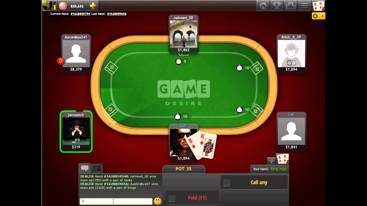 Yahoo texas poker