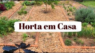 TOUR DA NOSSA HORTA (2021) | Horta em Casa | MARINA MORAIS