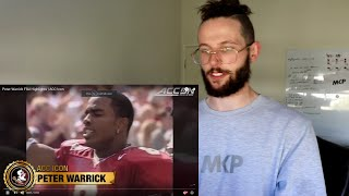 """Rugby Player Reacts to PETER WARRICK """"The Most Elusive Player in College Football History!"""""""