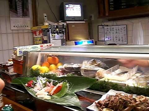 Ogi sushi Sushiya, Restaurante de sushi en Horinouchi, Katori, Chiba