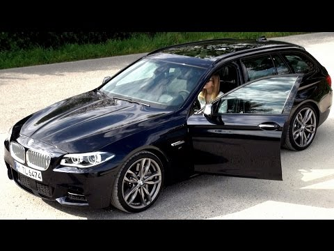 2014 BMW M550d xDrive Touring (381 HP) Test Drive