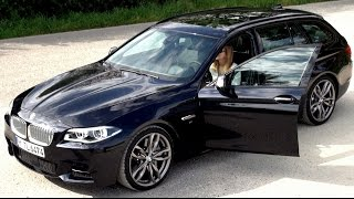 2014 BMW M550d xDrive Touring (381 HP) Test Drive