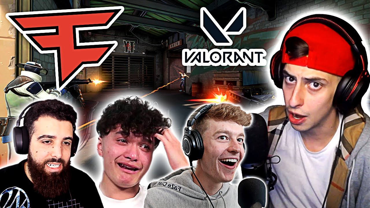 FaZe Clan REACTS to VALORANT - Going Pro?