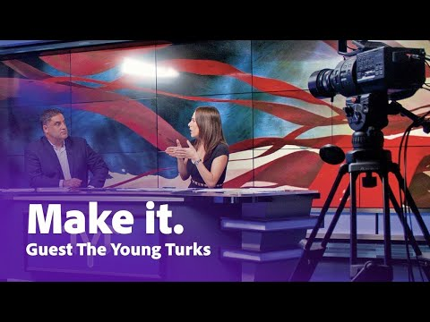 The Young Turks: The World's Largest Online News Show | Adobe Creative Cloud