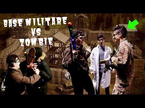 base-militare-nerf!-🧟-orda-di-zombie-ci-attacca!