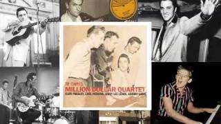 Million Dollar Quartet - Little cabin home on the hill (Elvis,Johnny,Carl & Jerry Lee) YouTube Videos