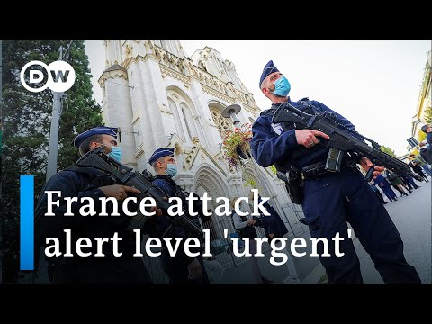 Knife attack in France's Nice leaves 3 dead and several wounded | DW News
