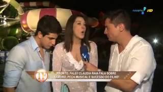 TV Fama: Claudia Raia diz que o filho Enzo é