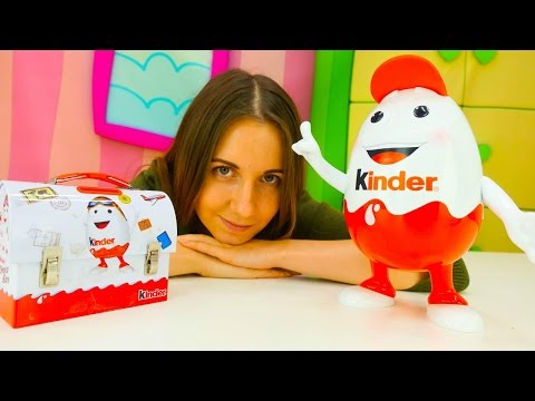 Видео для детей - Kinder SURPRISE идет в школу