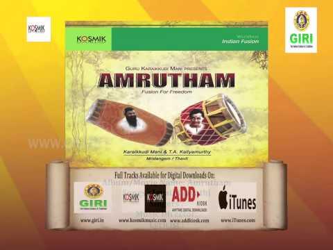 04  Jayathi Jayathi - Amrutham By Karaikkudi Mani & T A  Kaliyamurthy