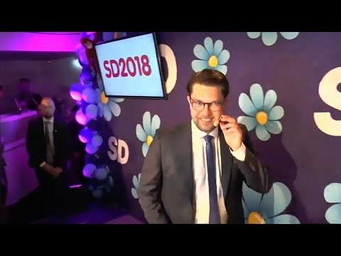Impasse na Suécia com subida da extrema-direita
