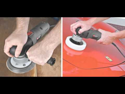 PORTER CABLE 7346SP 6 Inch Random Orbit Sander with Polishing Pad