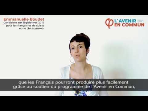 Emmanuelle Boudet - Commerce bilatéral franco-suisse