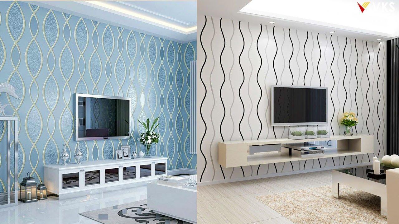 Latest Wallpaper Design Living Room Wallpaper Interior 3d Wallpaper Home Decor Wall Mural Youtube