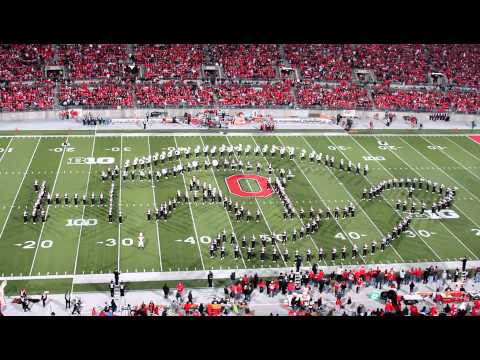 Ohio State Marching Band - Tribute to Halo (Halftime show vs