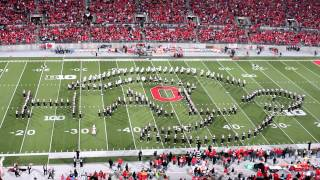 Ohio State Marching Band - Tribute to Halo (Halftime show vs Nebraska 10/6/12)