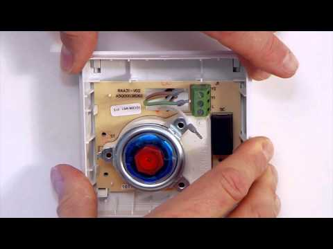 heatwell thermostat programming video for siemens rde100. Black Bedroom Furniture Sets. Home Design Ideas