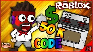 ROBLOX Indonesia #175 Cooking Simulator   Can 50K $ direct shopping stove