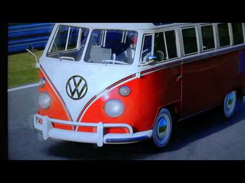 The fastest E class vw camper Nurburgring