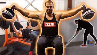 Dzik Log#37: DIETA 5000 kcal | remont siłowni | nowa metoda treningowa