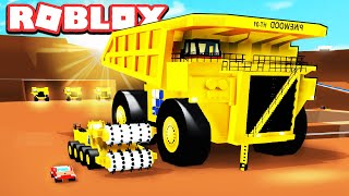 Roblox MINING GAME 💎 (HUGE WORKING CARS!)