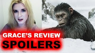 War for the Planet of the Apes SPOILERS Movie Review
