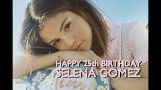Happy 25th birthday Selena!