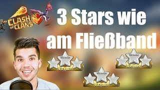 CLASH OF CLANS: 3 Stars wie am Fließband ✭ Let's Play Clash of Clans [Deutsch/German HD]