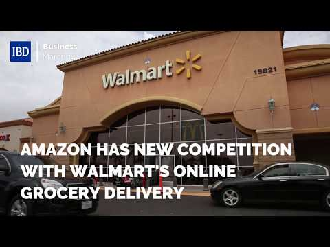 Amazon Has New Competition With Walmart's Online Grocery Delivery