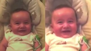 CREEPY TROLL BABY Laughing | What's Trending Now
