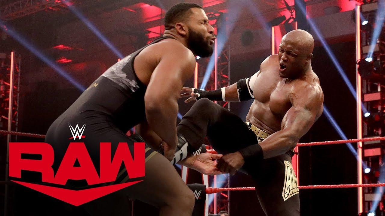 Denzel Dejournette vs. Bobby Lashley: Raw, April 27, 2020