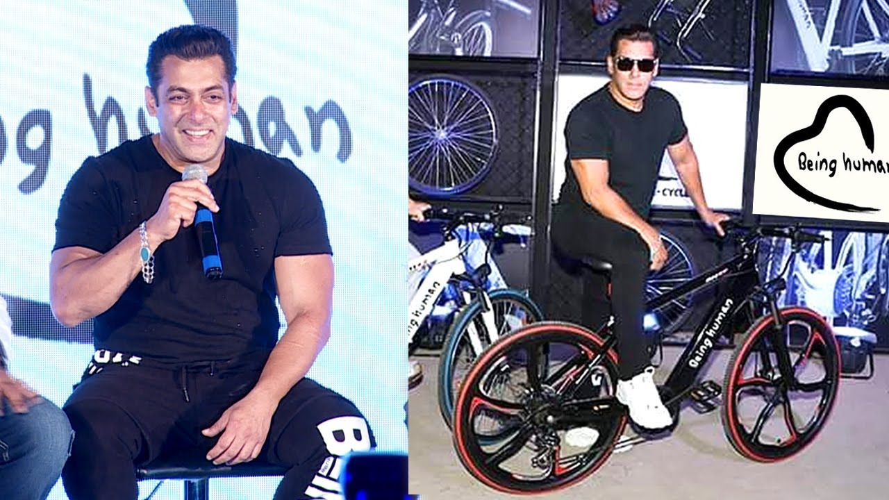 b41c2390e93 Salman Khan Being Human Electric Cycle Launch Full Video HD - YouTube