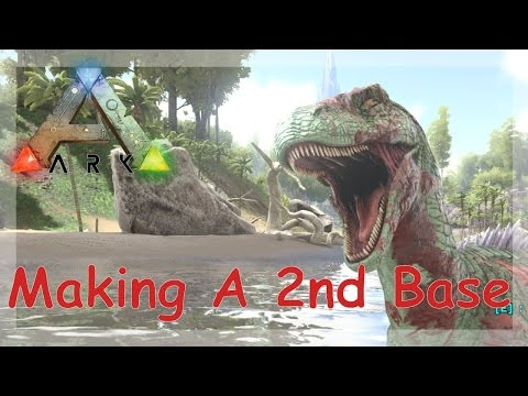 Ark - Making A Second Base (Live Stream)