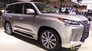 2016 Lexus LX570 - Exterior and Interior Walkaround - Debut at 2015 Tokyo Motor Show