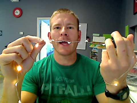 Micro Led String Lights Youtube