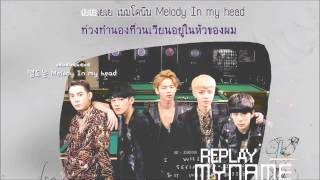MYNAME - Replay (Karaoke, THAI Sub)