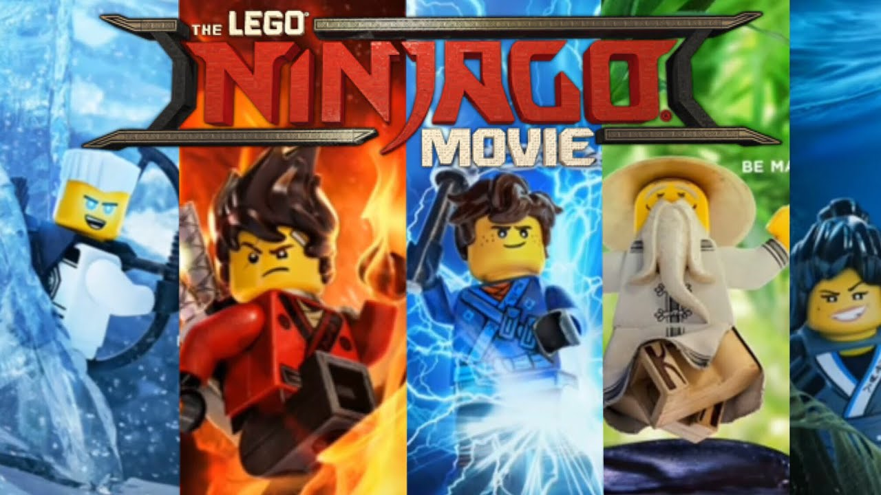 Ninjago Movie Wallpapers