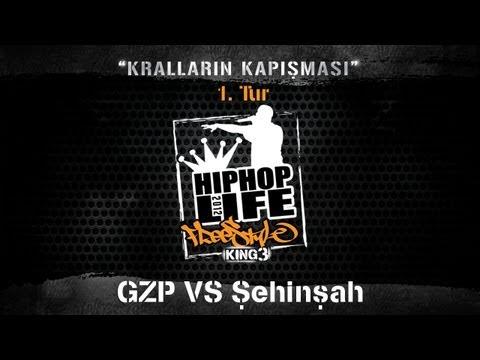 GZP vs Şehinşah - Hiphoplife Freestyle King 3 (2012) #FK3