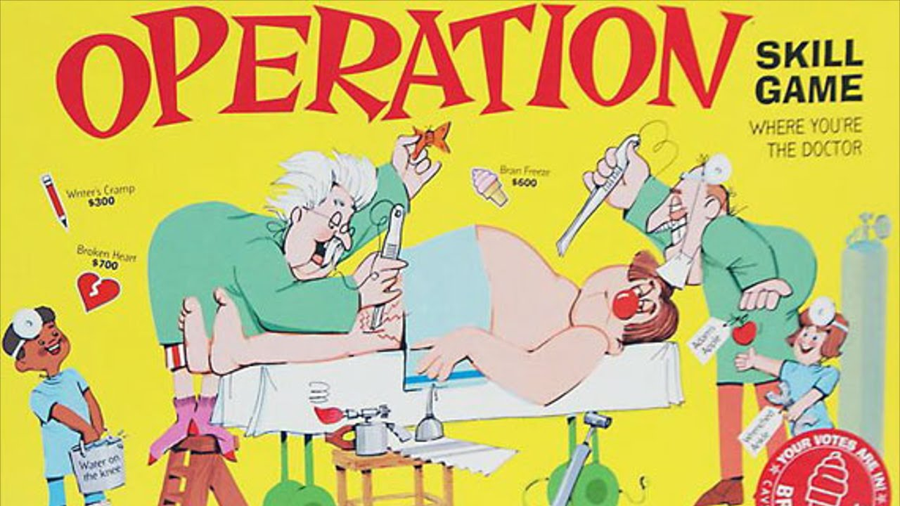 operation board game review youtube