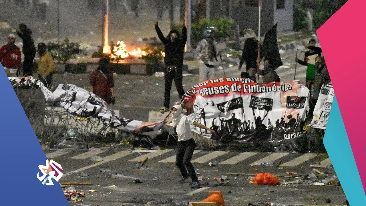 قناة العربي:العربي اليوم | إندونيسيا .. صخب واحتجاجات على نتائج الانتخابات