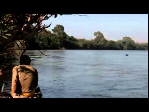Angry hippos and crazy Malian fishermen! River Gambia, Senegal, West Africa MVI 4085 MOV